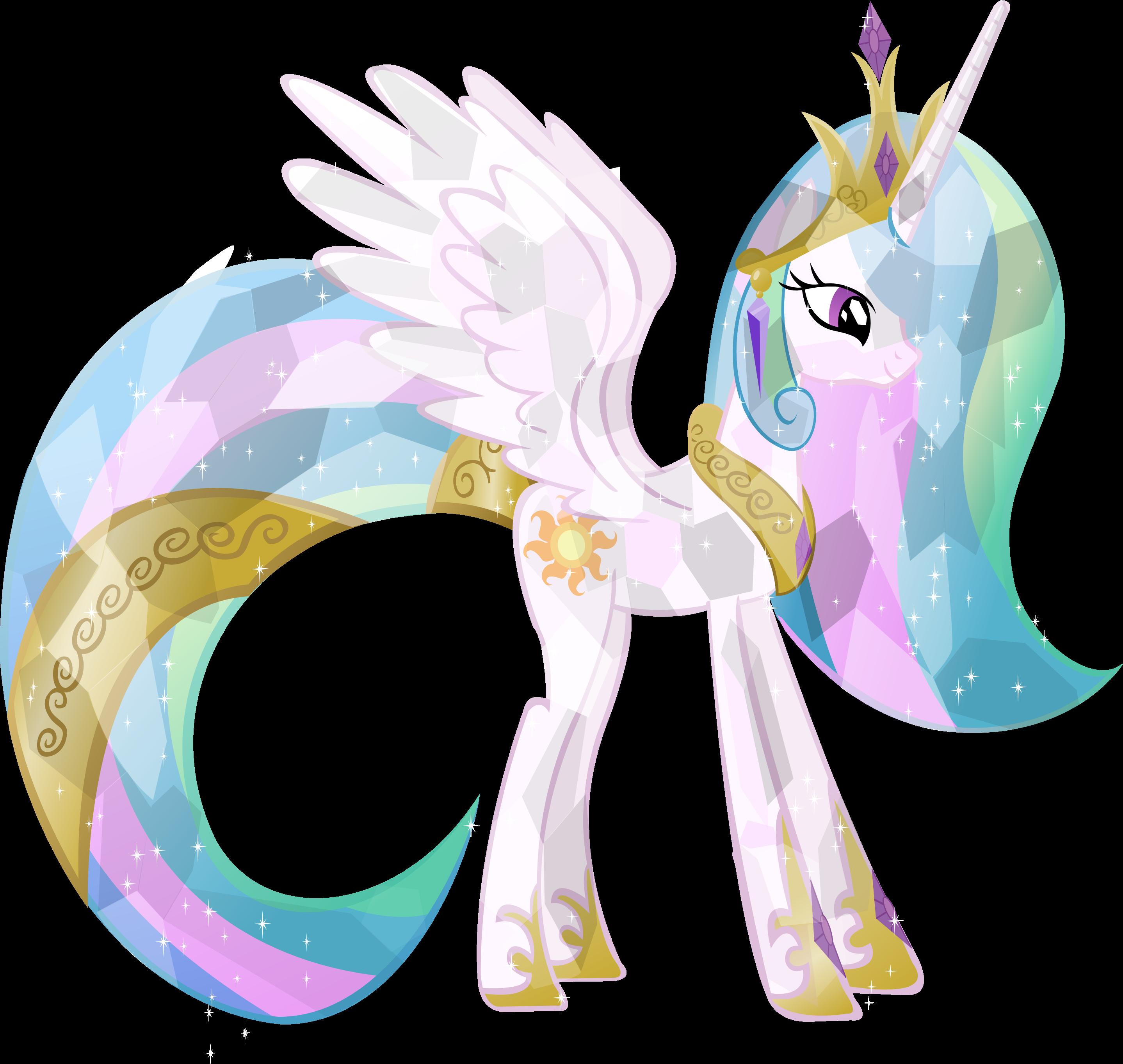 Crystal Princess Celestia by Vector-Brony