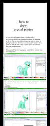 Crystal Pony Guide by Vector-Brony