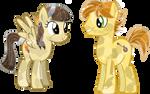 Crystal Wildfire (aka sibsy) and Mando Pony