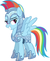 Knight Rainbow Dash by Vector-Brony