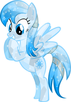 Crystal Frozen Snowflake by Vector-Brony