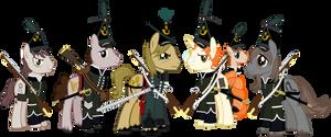 Sharpe's Chosen Ponies