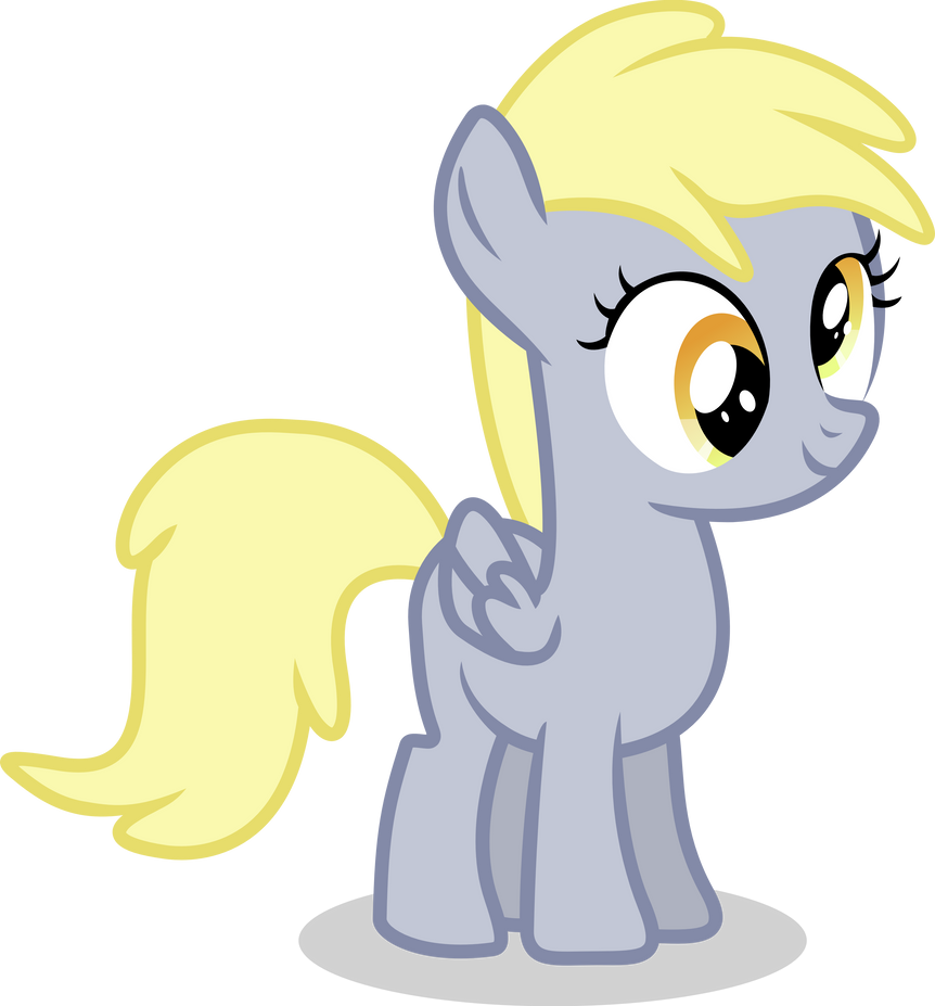 Filly Derpy by Vector-Brony