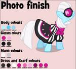 Photo Finish colour guide