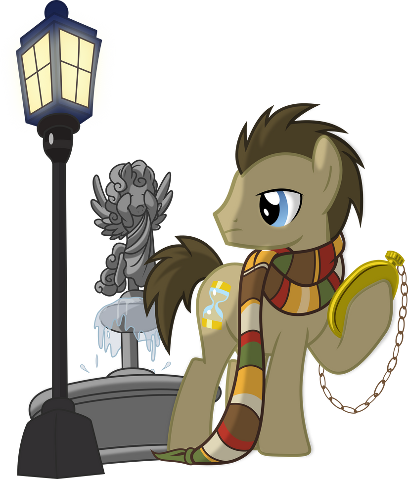Los Chicos en My Little Pony Doctor_hooves_and_weeping_angel_by_hampshireukbrony-d6cqbhr