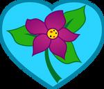 Princess Violet cutie mark