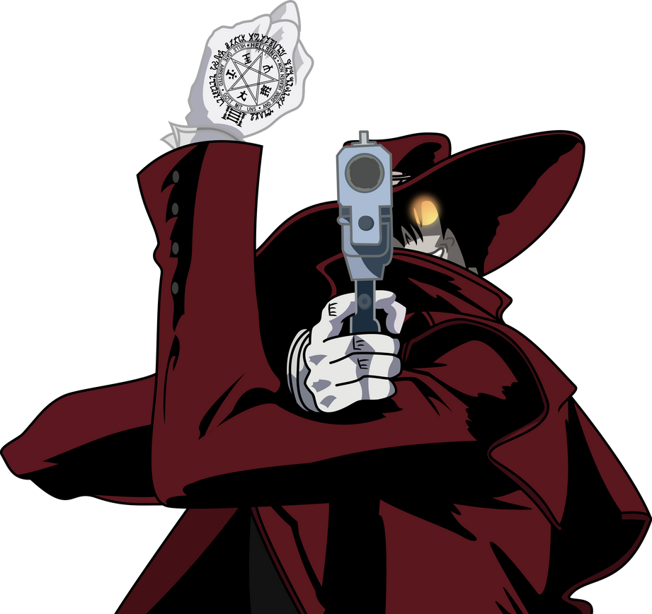 Alucard's Going put a bullet in you by Vector-Brony