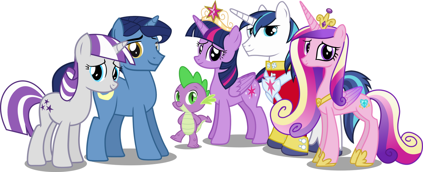 twilight_sparkles_family_by_hampshireukb