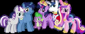 Twilight Sparkles Family