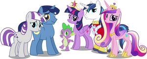 Twilight Sparkles Family