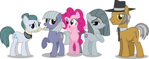 Pinkie Pie's Family