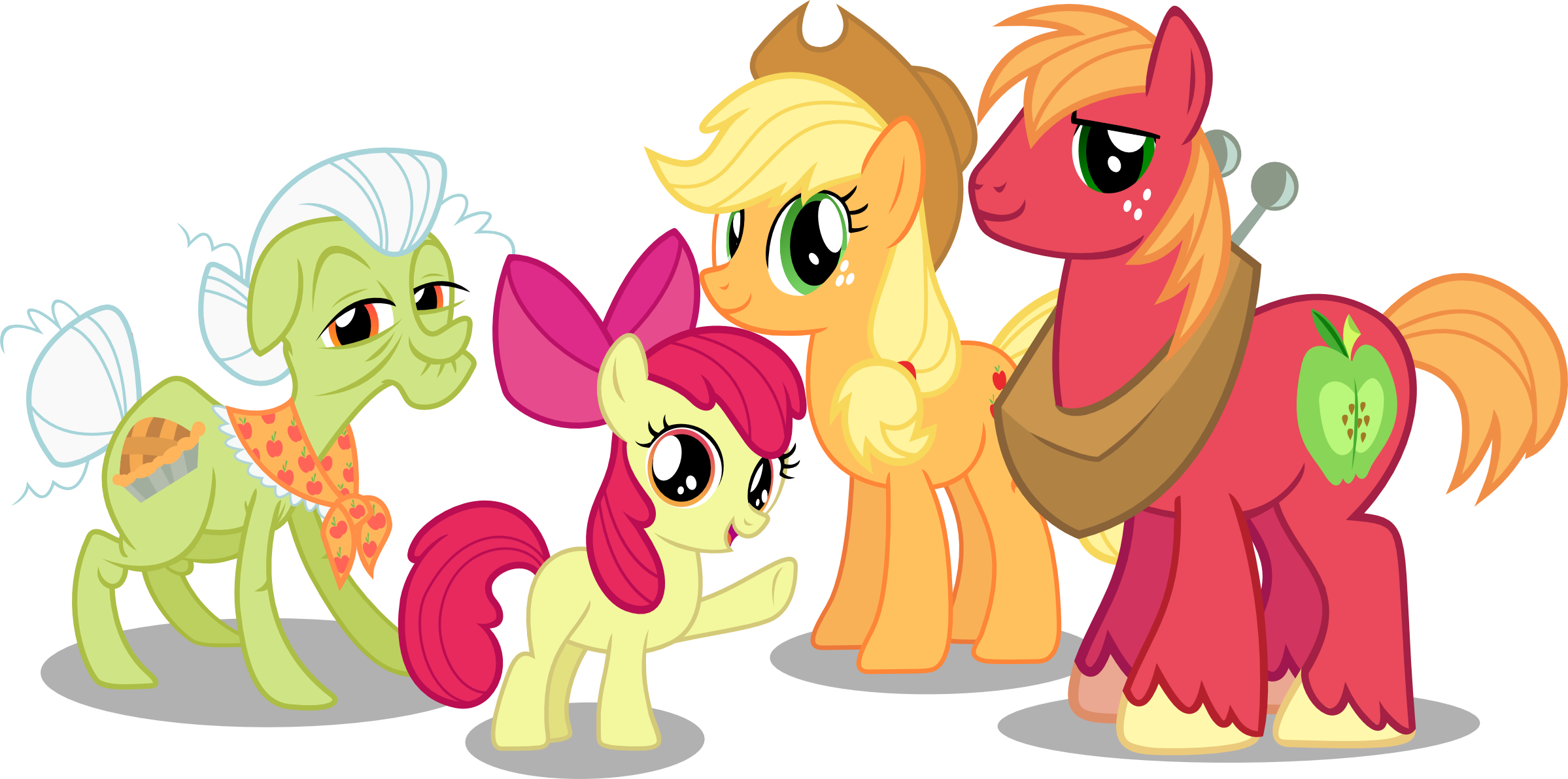 Apple Family The Apple Family by Ve...
