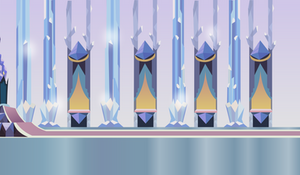 Crystal throne room by Vector-Brony
