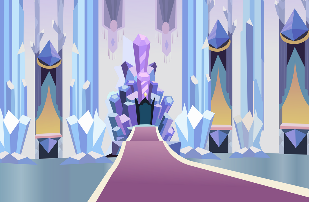 Crystal Throne by Vector-Brony on DeviantArt Empty Throne Wallpaper