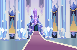 Crystal Throne by Vector-Brony