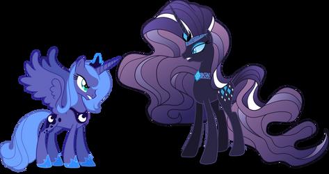 Nightmare Rarity Vs Luna