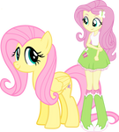 Fluttershy and Fluttershy