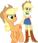 Applejack and Applejack