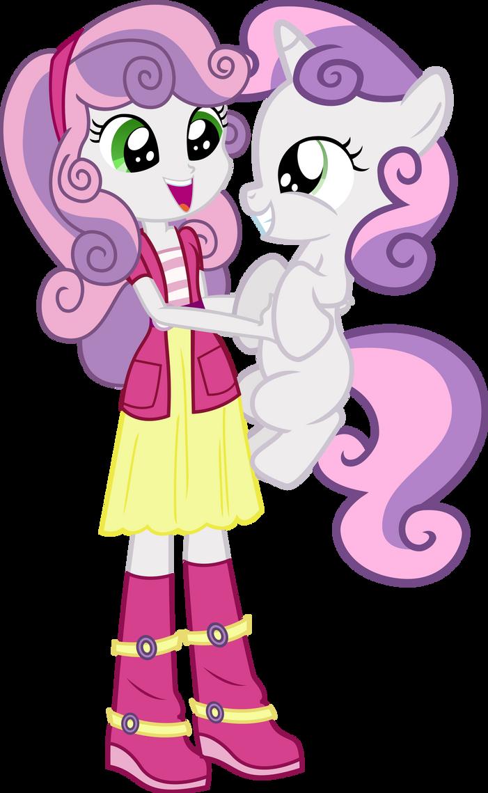 Sweetie Belle And Sweetie Belle by Vector-Brony on DeviantArt