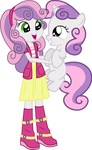 Sweetie Belle And Sweetie Belle