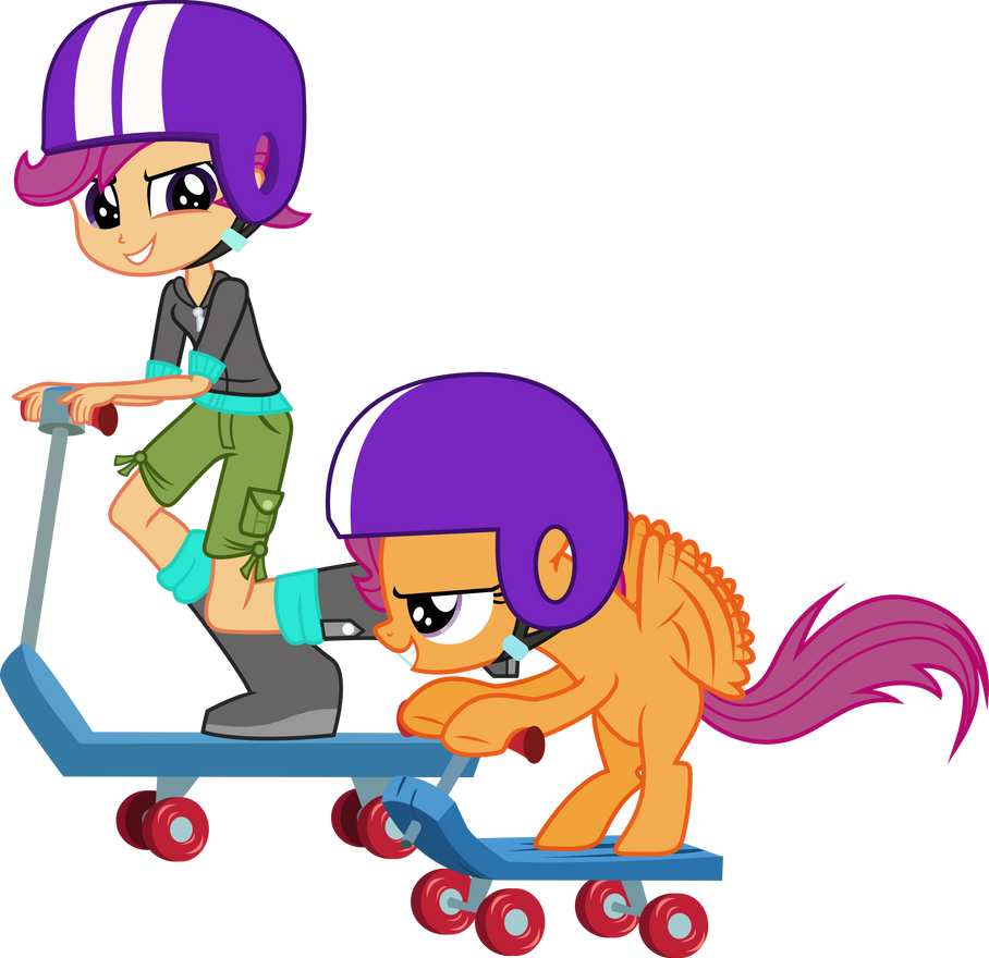 Scootaloo And By Vector Brony On DeviantArt