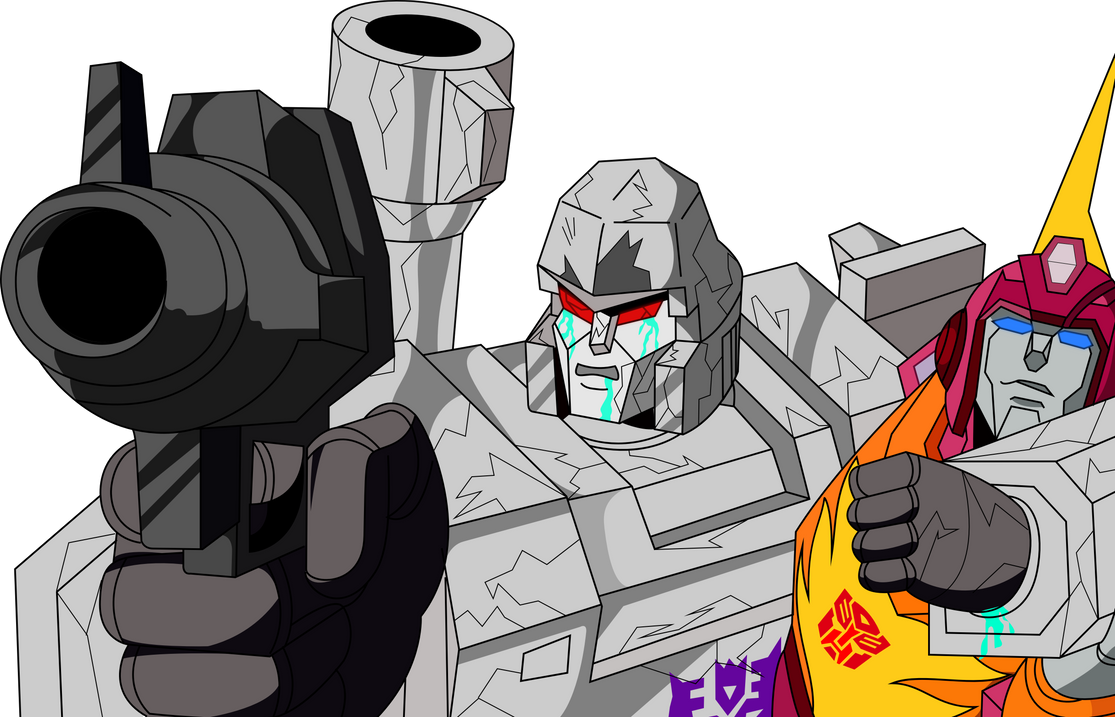 Megatron Kills Optimus Prime by Vector-Brony