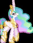 Princess Celestia going to war