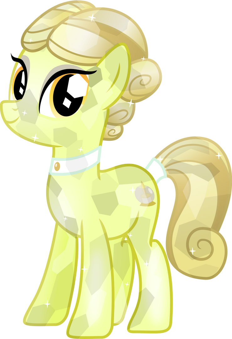 Crystal spa pony golden glitter by vector brony on deviantart for Adagio salon golden valley