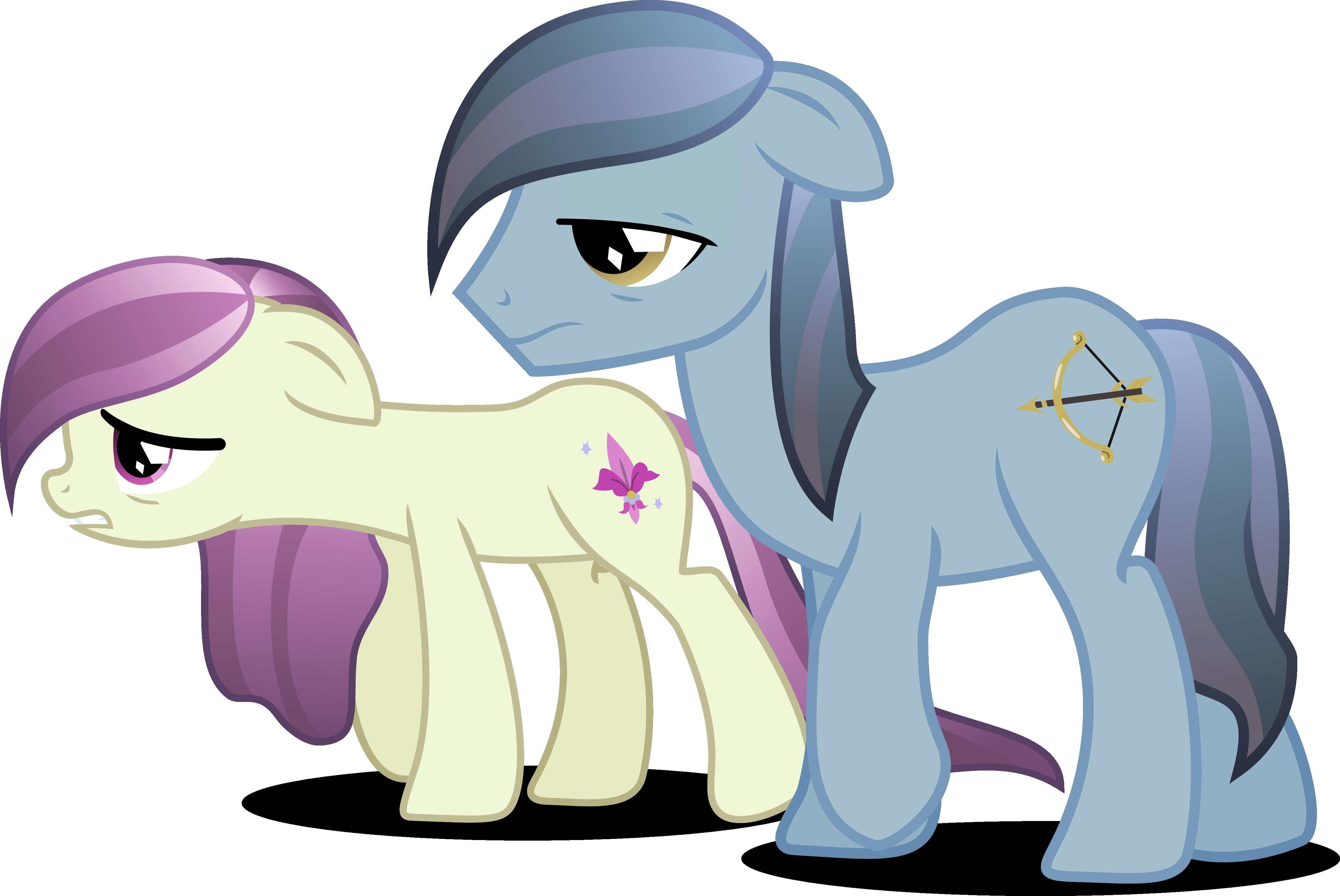 Depressed Crystal ponies by Vector-Brony on DeviantArt