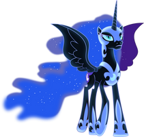 The moon will rise by Vector-Brony