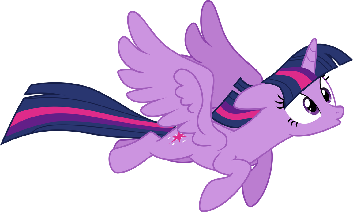 Flying Twilight by Vector-Brony