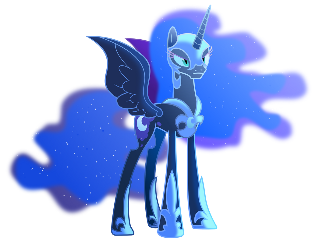 Nightmare moon in the moonlight by Vector-Brony on DeviantArt