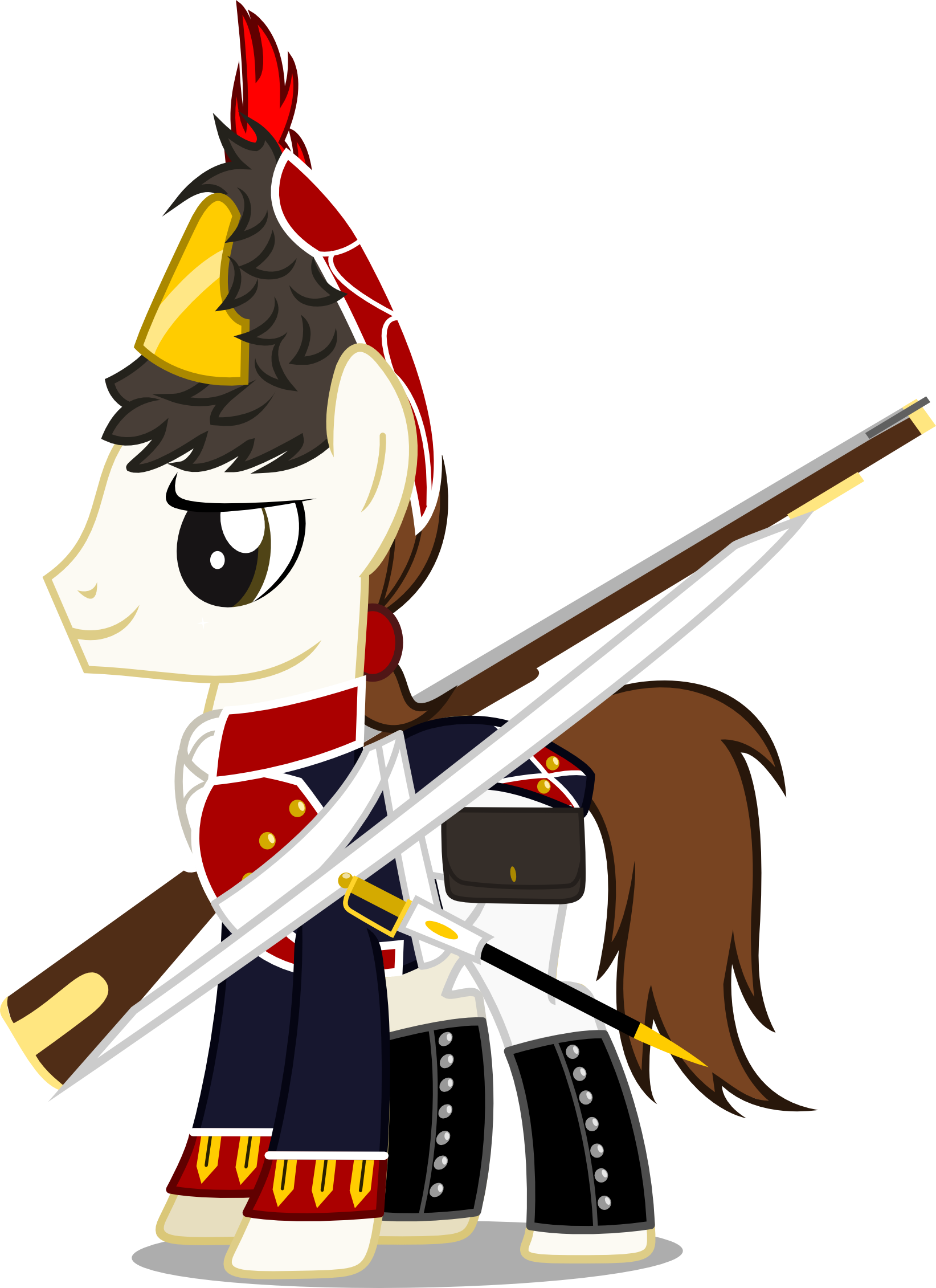 Spanish Militia Uniform by Vector-Brony
