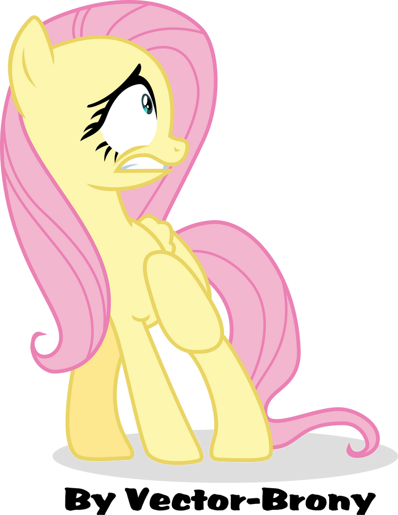 Scared Fluttershy by Vector-Brony on DeviantArt
