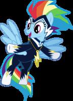The Zap (aka Rainbow Dash) by Vector-Brony