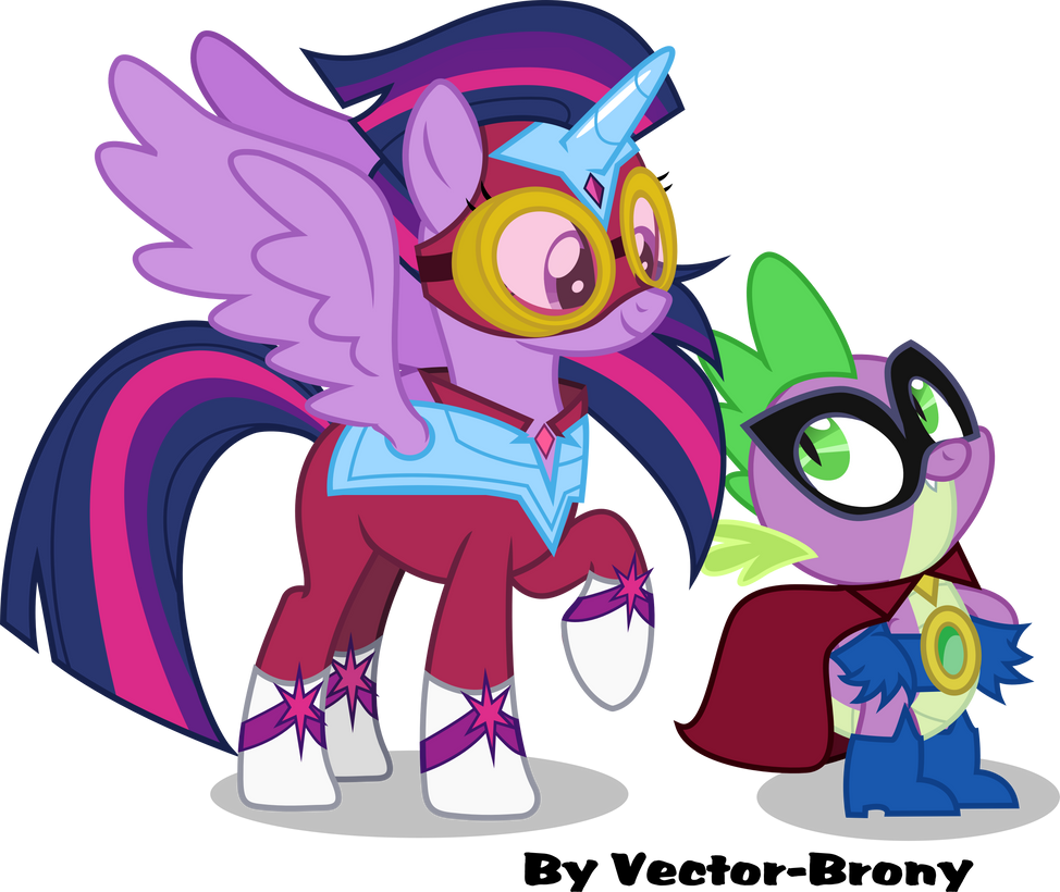 Masked Matter-Horn and Humdrum by Vector-Brony