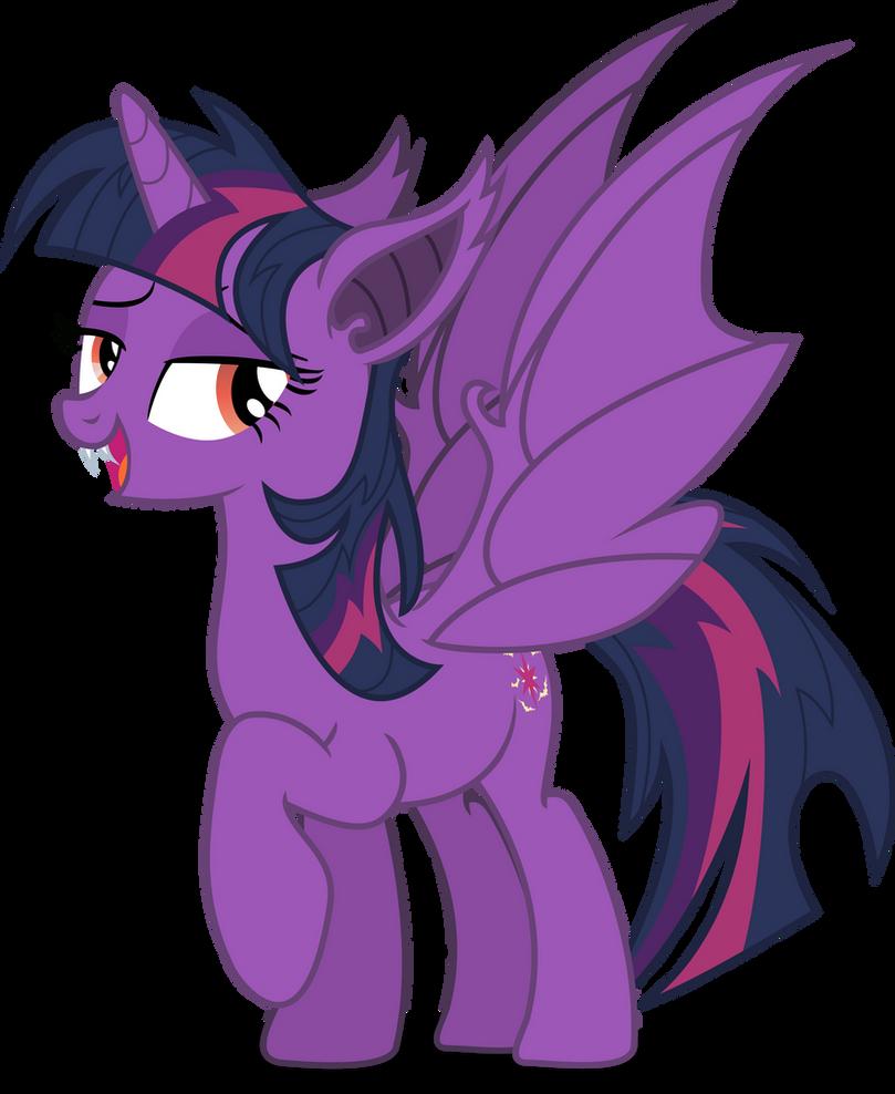 Twilie-bat by Vector-Brony