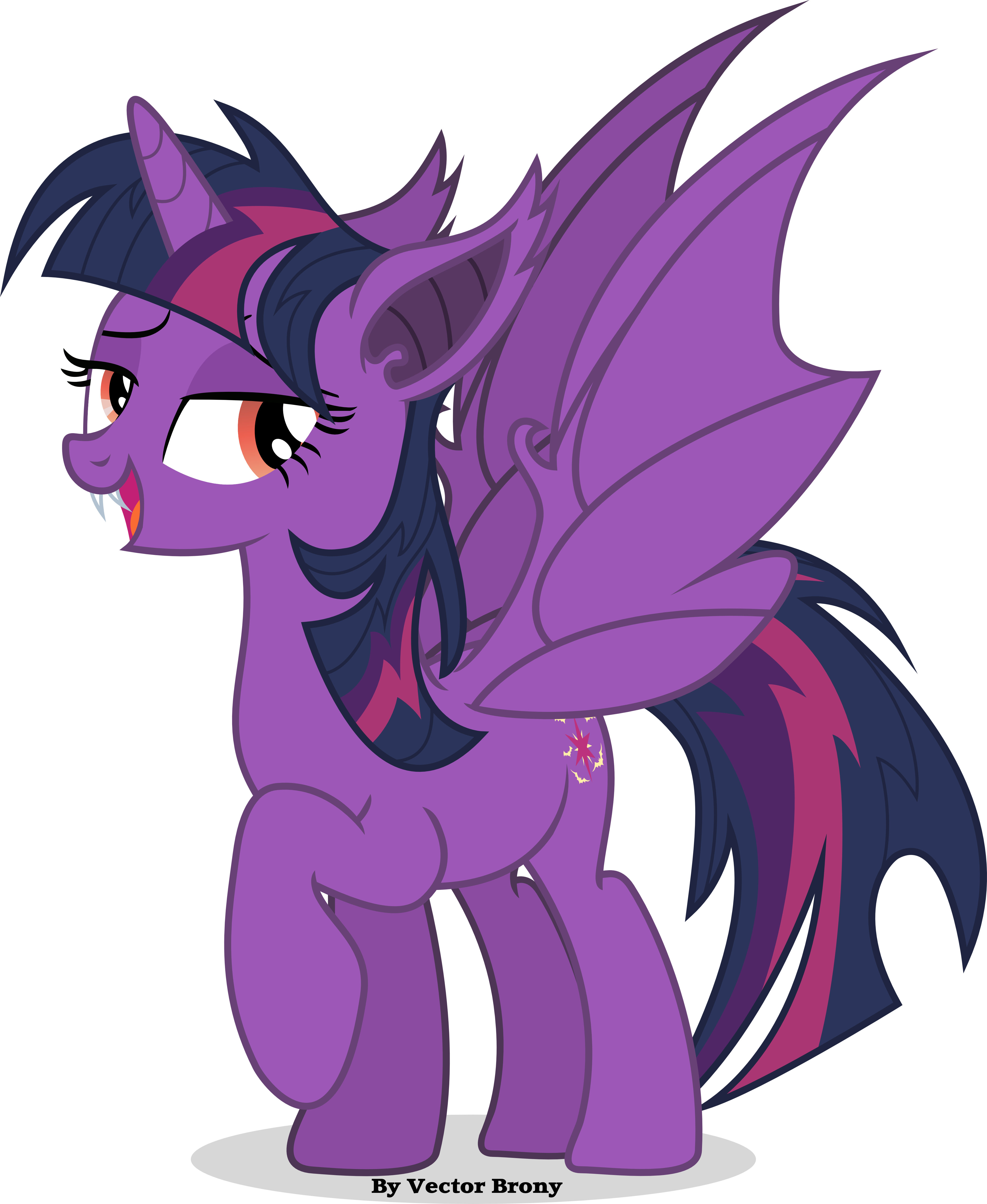 twilie bat by vector brony on deviantart