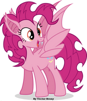 Bat Pinkie by Vector-Brony