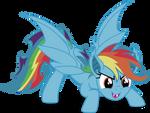 Rainbow bat
