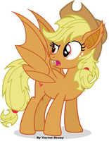 Apple-Bat by Vector-Brony