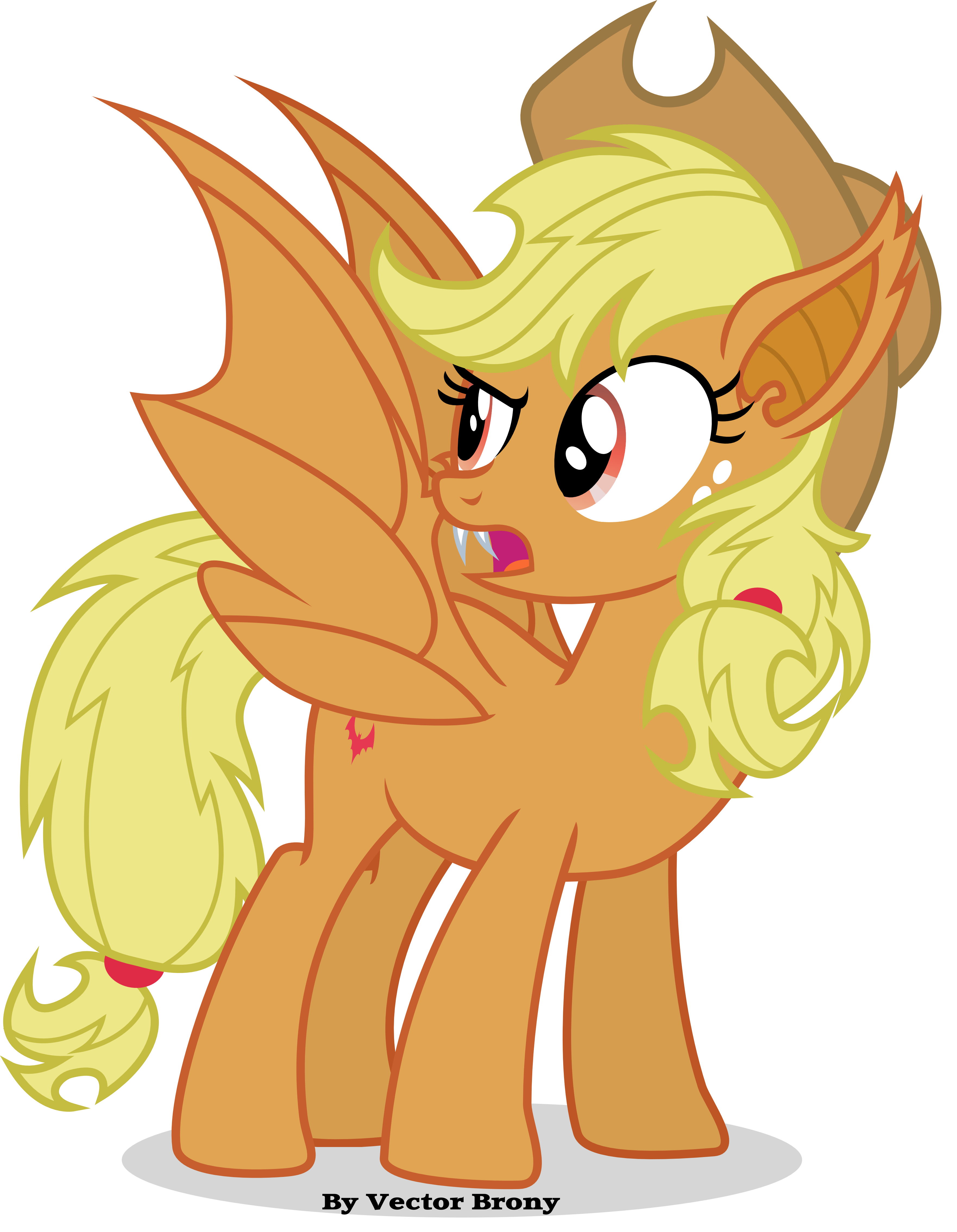 Apple-Bat by Vector-Brony