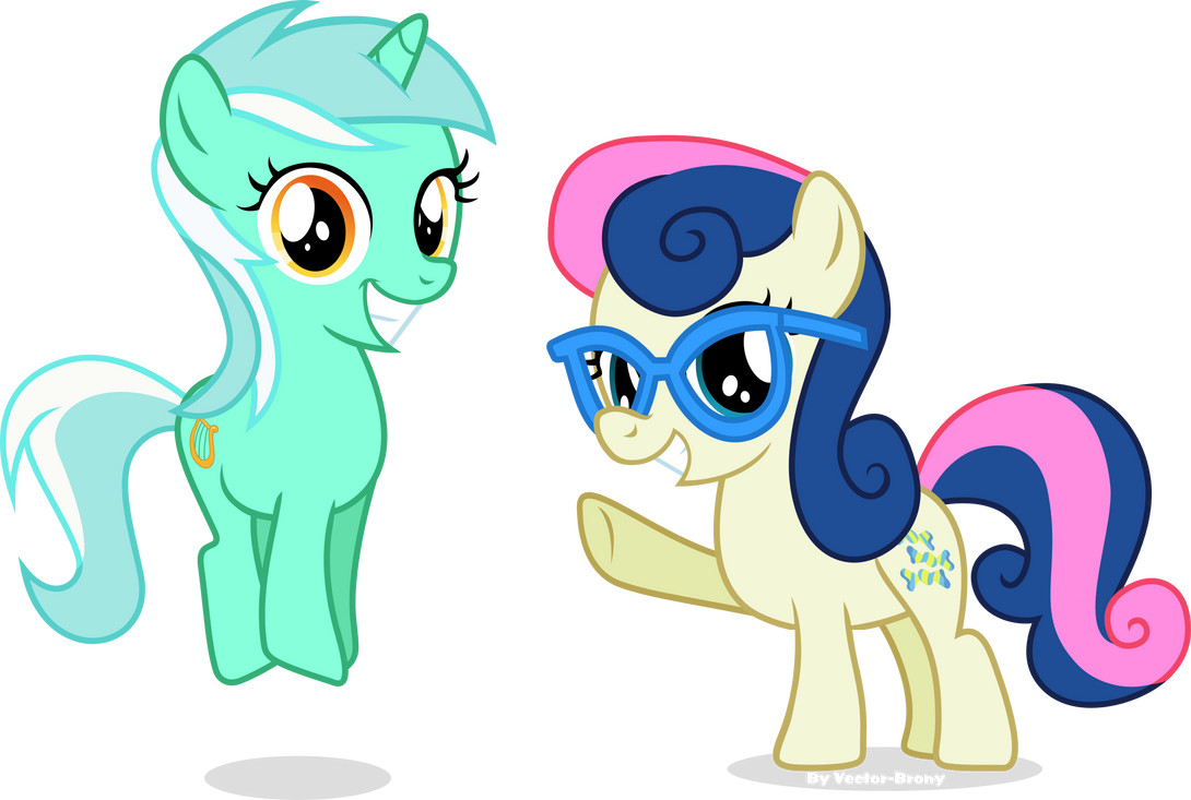 filly_lyra_and_bonbon_by_vector_brony-d7
