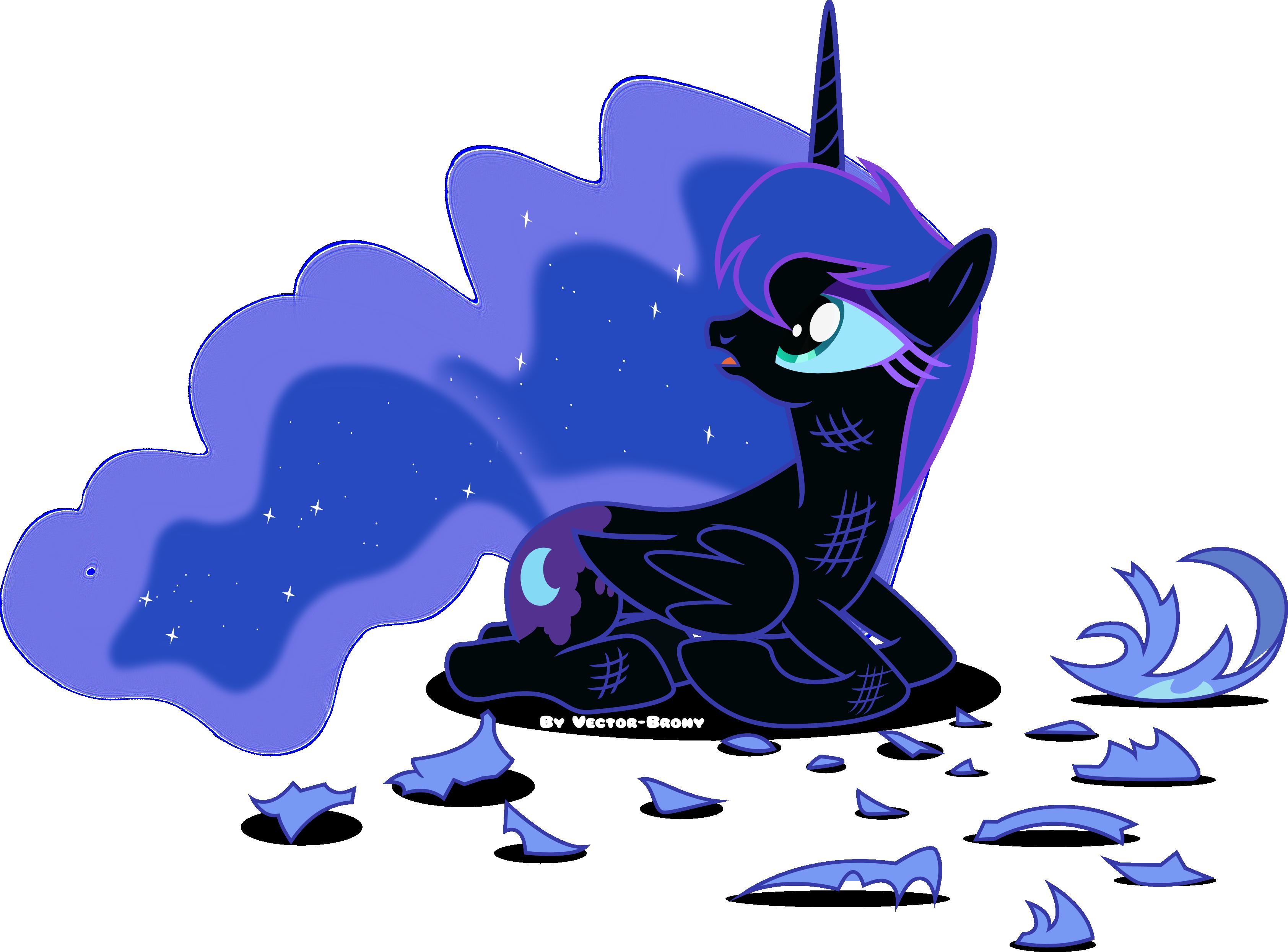 sad Nightmare moon by Vector-Brony on DeviantArt