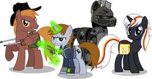 Fallout Equestria characters