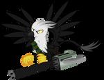 Gryphon Mercenary (Fallout Equestria)