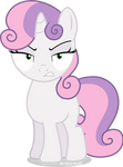 Angry Sweetie-Belle