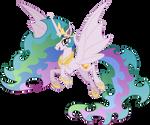 Bat Princess Celestia