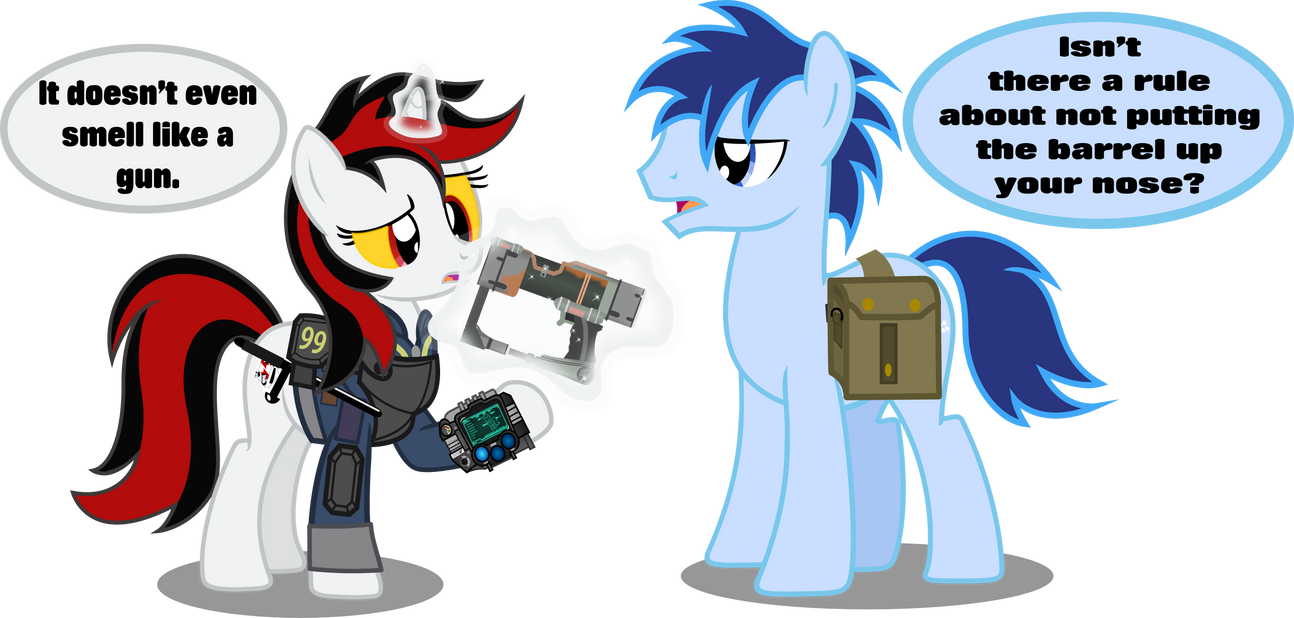 Blackjack's not a smart pony by Vector-Brony