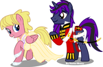Sweetie-bloom and Brony-dev